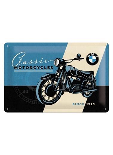 Nostalgic Art BMW Classic Duvar Panosu Renkli